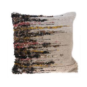 Perna maro din lana si viscoza 50x50 cm Woven HK Living