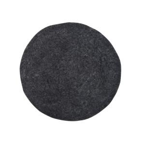 Perna rotunda gri pentru sezut 35 cm Felt HK Living