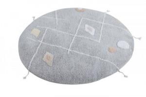 Perna rotunda multicolora din bumbac pentru podea 120 cm Lou Lorena Canals