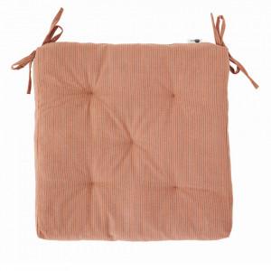 Perna sezut roz din bumbac 45x45 cm Igra Madam Stoltz