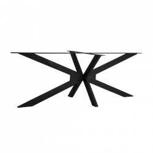 Picior pentru masa negru din fier Viborg Vical Home