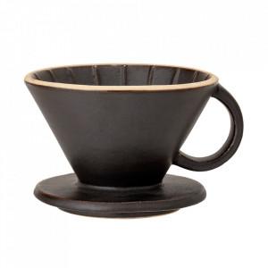 Picurator cafea negru din ceramica Leah Bloomingville