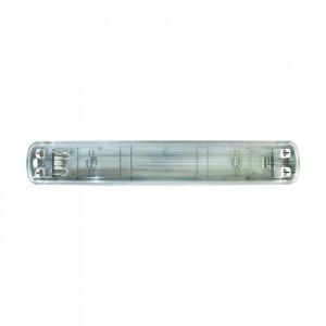 Plafoniera gri din plastic LED Kolm S Milagro Lighting