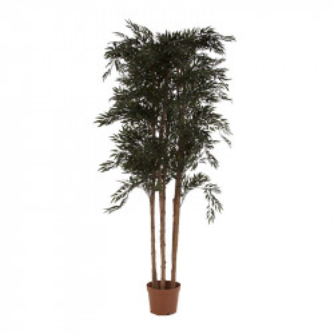 Planta artificiala cu ghiveci din poliester si plastic 210 cm Fern Vical Home