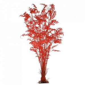 Planta artificiala rosie din fier si plastic 300 cm Fern Pols Potten