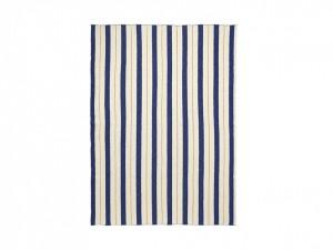 Pled multicolor din bumbac 120x160 cm Pinstripe Ferm Living
