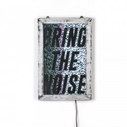 Poster 21,5x34,5 cm Bring the noise Seletti