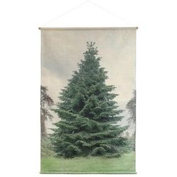 "Poster bumbac Craciun ""XL Tree"" HK Living"