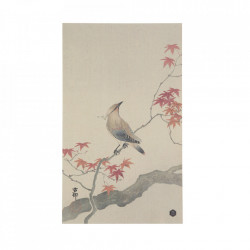 Poster multicolor din hartie 25x35 cm Waxwing Be Pure Home