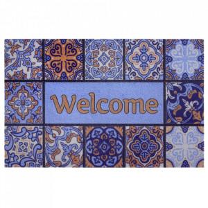 Pres multicolor dreptunghiular pentru intrare din polipropilena 45x70 cm Odre The Home