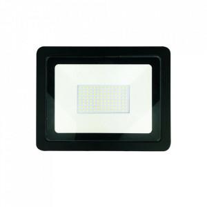 Proiector negru din metal LED Aleo S Milagro Lighting