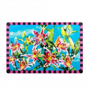 Protectie masa 45x30cm Flowers with holes Toiletpaper Seletti