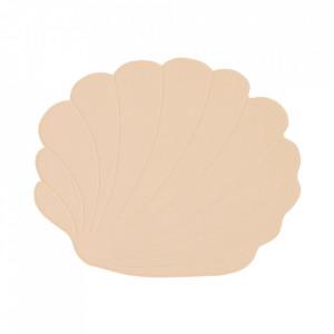 Protectie masa crem vanilie din silicon 34x40 cm Seashell Oyoy