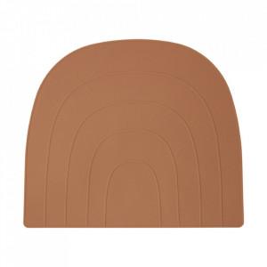 Protectie masa din silicon 34x41 cm Rainbow Fudge Oyoy