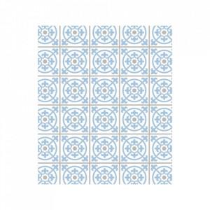 Protectie multicolora din sticla pentru perete 60x70 cm Wall Tiles Retro Wenko