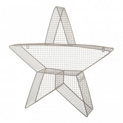 Raft gri din fier Star Display Bloomingville