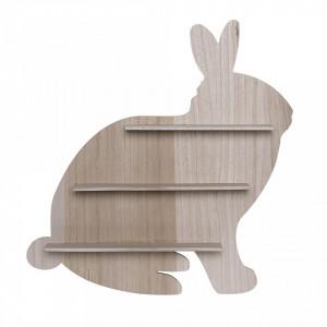 Raft maro din lemn 50 cm Rabbit Bloomingville Mini