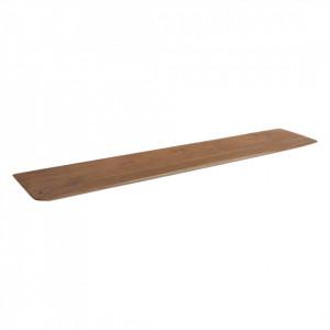 Raft maro din lemn de cedru 90 cm Craftman Raw Materials
