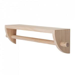 Raft maro din lemn de paulownia 60 cm Mingus Bloomingville