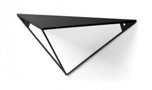 Raft negru din metal 40 cm Upp Bitt La Forma