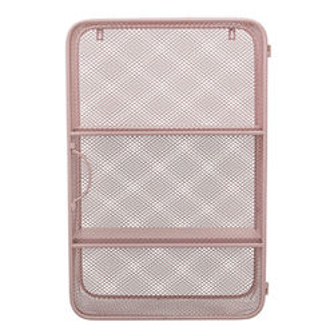 Raft roz din metal 40x61 cm Mini Cabinet Bloomingville