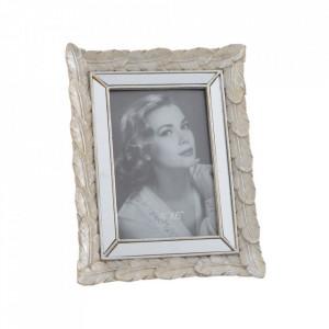 Rama foto argintie din polirasina 17x22 cm Meka Ixia