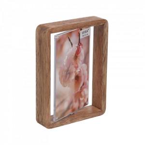 Rama foto maro din lemn 13x17 cm Versa Home