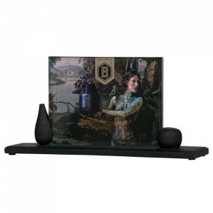 Rama foto neagra din lemn de mango 15x29 cm Beloved Be Pure Home