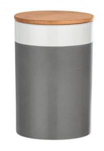 Recipient cu capac multicolor din ceramica si lemn 1,45 L Malta XL Wenko