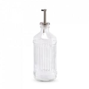 Recipient transparent din sticla pentru ulei sau otet 500 ml Brize Zeller