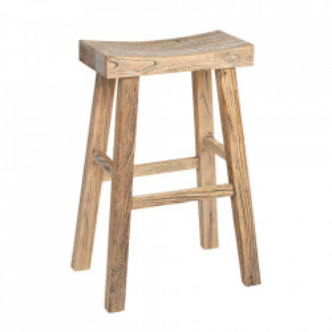 Scaun bar maro din lemn Billie Versmissen