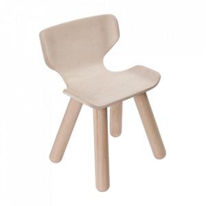 Scaun maro din lemn Ally Plan Toys