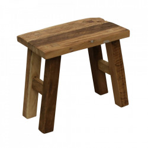 Scaunel maro din lemn Farmwood Raw Materials