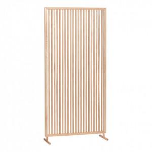 Separator camera maro din lemn de stejar 70x140 cm Partition Hubsch