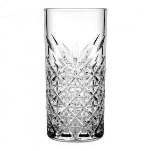 Set 12 pahare transparente din sticla 450 ml Timeless