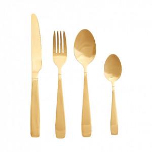 Set 16 tacamuri aurii din inox Giulia Hubsch