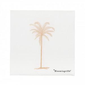 Set 20 servetele 25x25 cm Beach Bloomingville