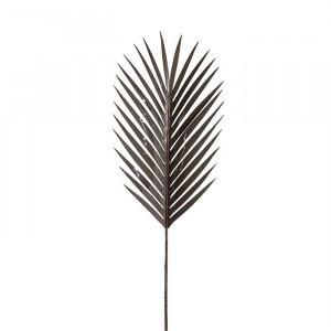 Set 8 plante artificiale grej din plastic si metal 97 cm Frond Palm Richmond Interiors
