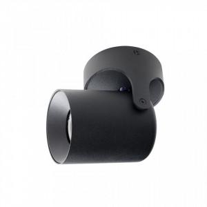 Spot dimabil negru din aluminiu Valon Zuiver