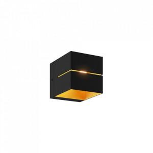 Spot negru/auriu din aluminiu Transfer WL Gold Zuma Line