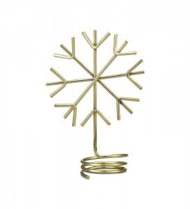 Suport auriu din metal 7,5 cm pentru lumanare Dekora Markslojd