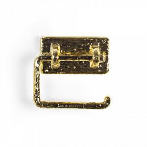 Suport auriu pentru hartie igienica Mauriziø Seletti