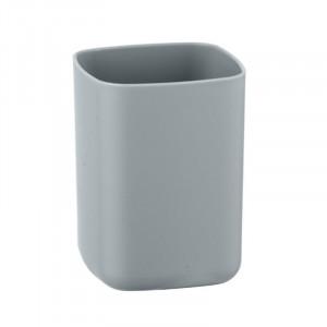 Suport gri din elastomer termoplastic pentru periuta dinti 7x10 cm Barcelona Wenko