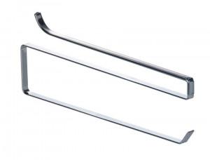 Suport hartie argintiu din metal pentru raft Shelf Kitchen Roll Wenko