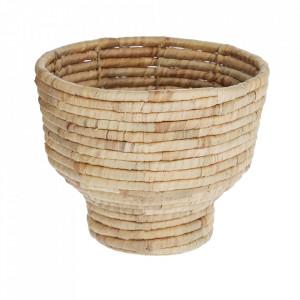 Suport pentru ghiveci maro din fibre naturale si lemn 35 cm Colomba Kave Home