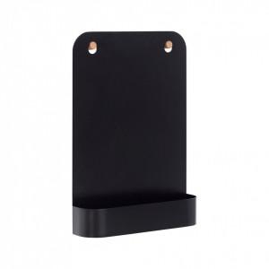Tabla neagra cu raft pentru reviste Blackboard Hubsch