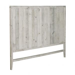 Tablie pat alb din lemn de pin 164 cm Words Kave Home