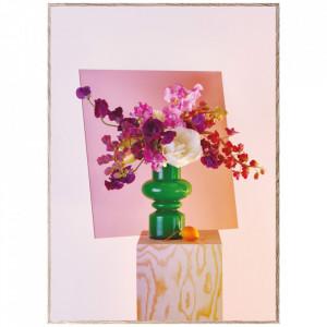 Tablou cu rama din lemn de stejar Bloom 06-Green Paper Collective