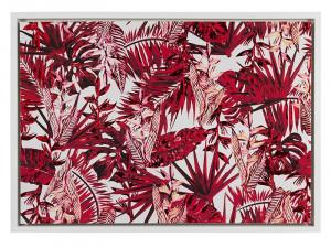 Tablou din MDF 69x97 cm Red Plant Santiago Pons