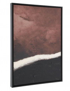 Tablou multicolor din lemn 60x90 cm Kande La Forma